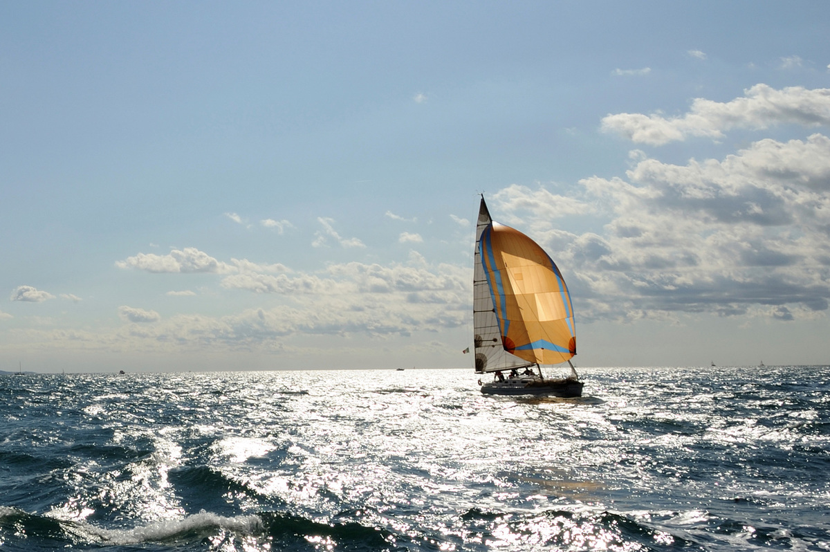 Sailboat Centered